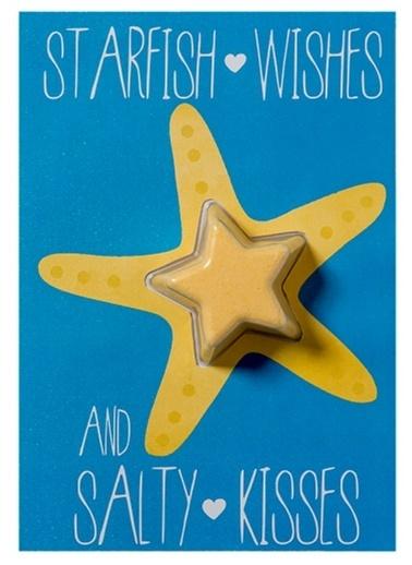 Bomb Cosmetics Starfish Wishes Blaster Card Renkli